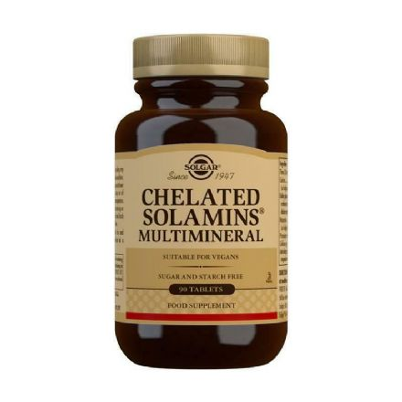 Chelated Solamins Multimineral x 90/180 Tablets; Solgar